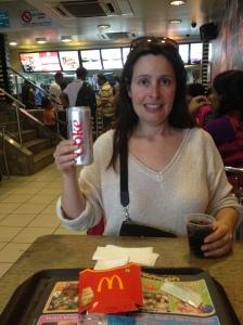 Diet Coke & Fries at McD's
