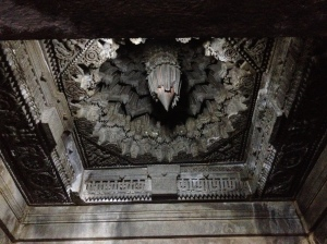 Ceiling of temple